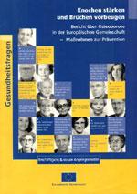 Bericht über Osteoporose in der Europäischen Gemeinschaft